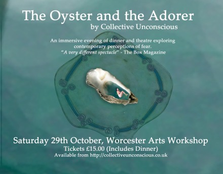 The Oyster and the Adorer poster with description landscape